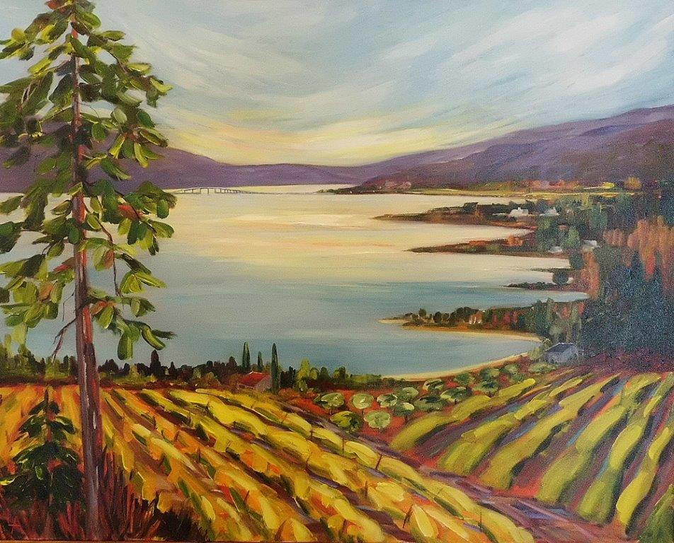 'Okanagan Evening Glow'