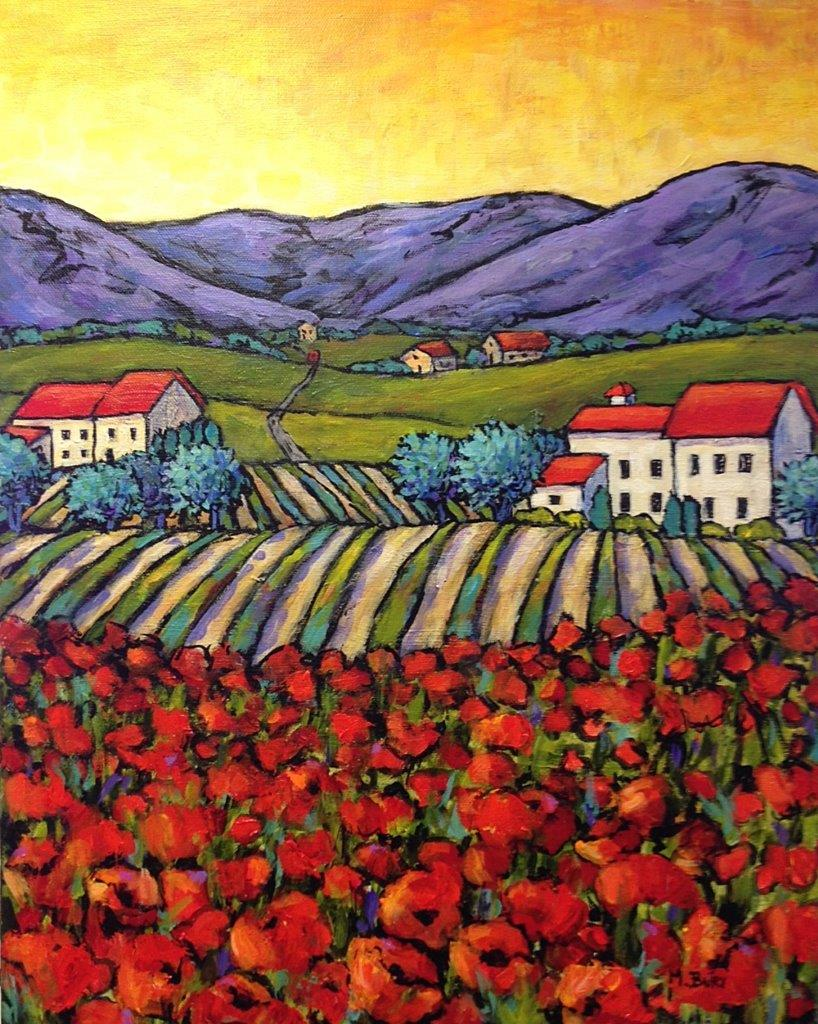 'Poppies Vineyards'